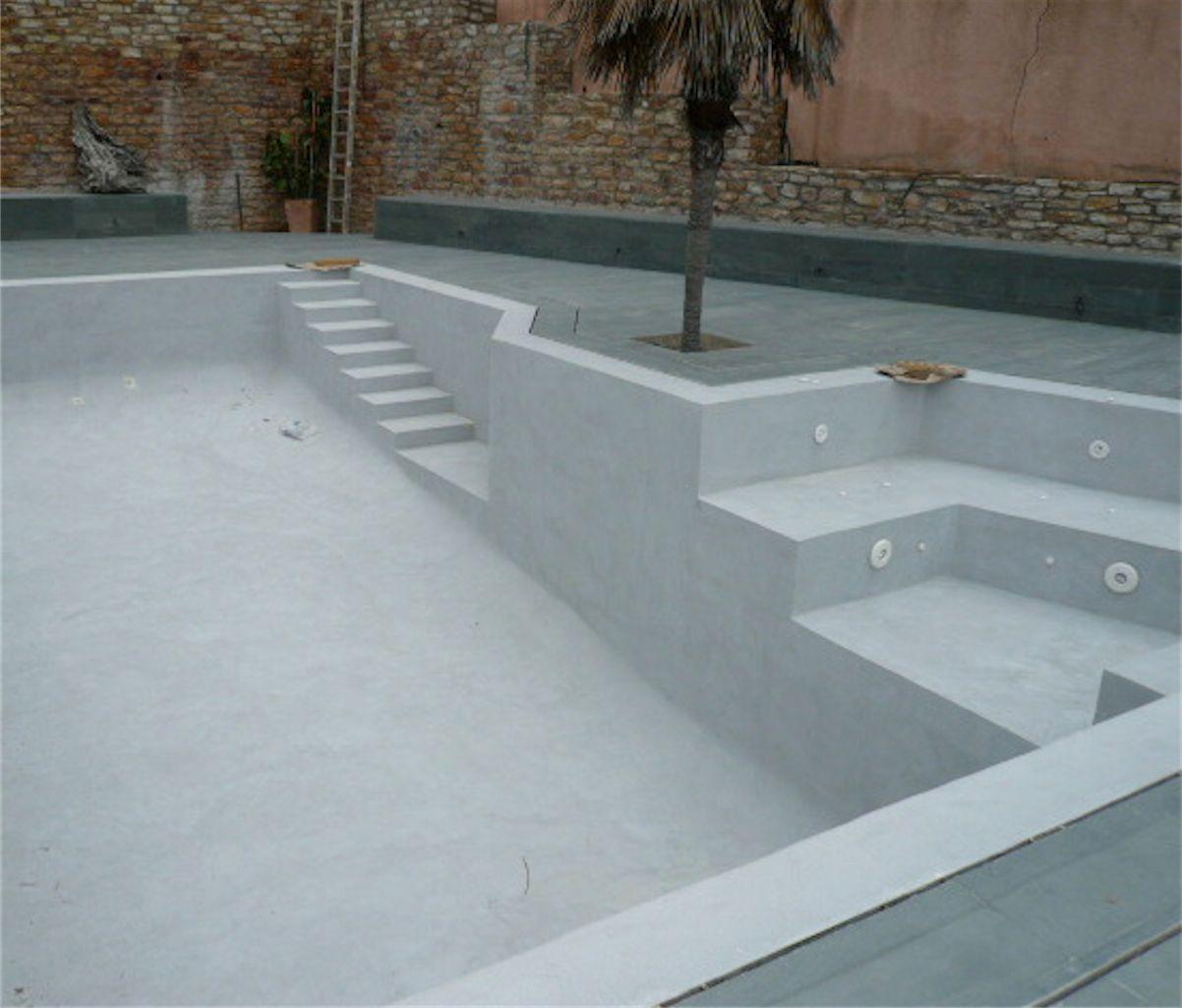 Rehabilitaciones en microcemento mas pinterest - Microcemento piscinas ...