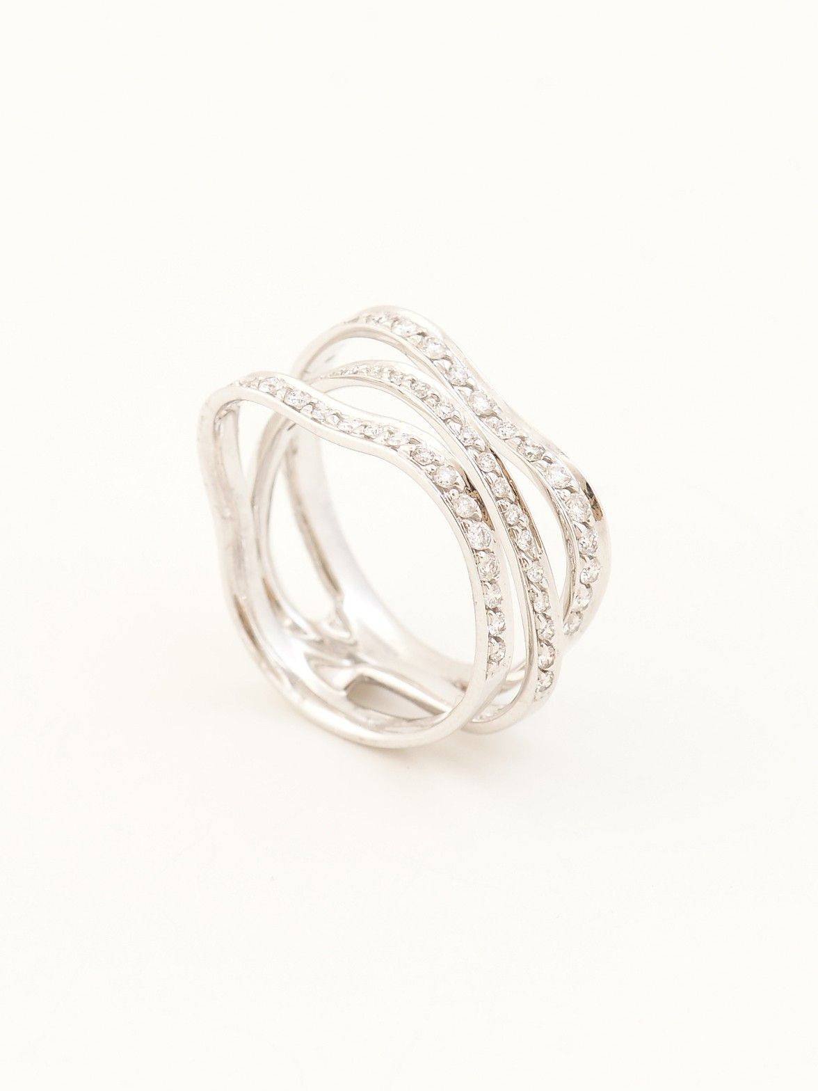 White gold wedding rings at sterns