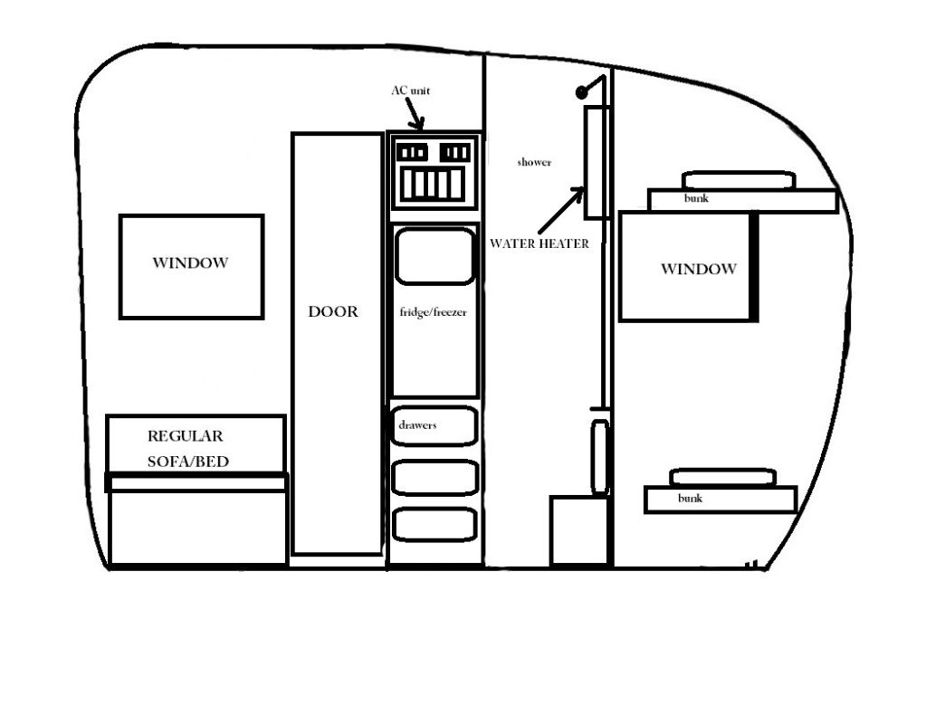 shasta trailer shasta camper little trailer small trailer add a bathroom  [ 1023 x 779 Pixel ]