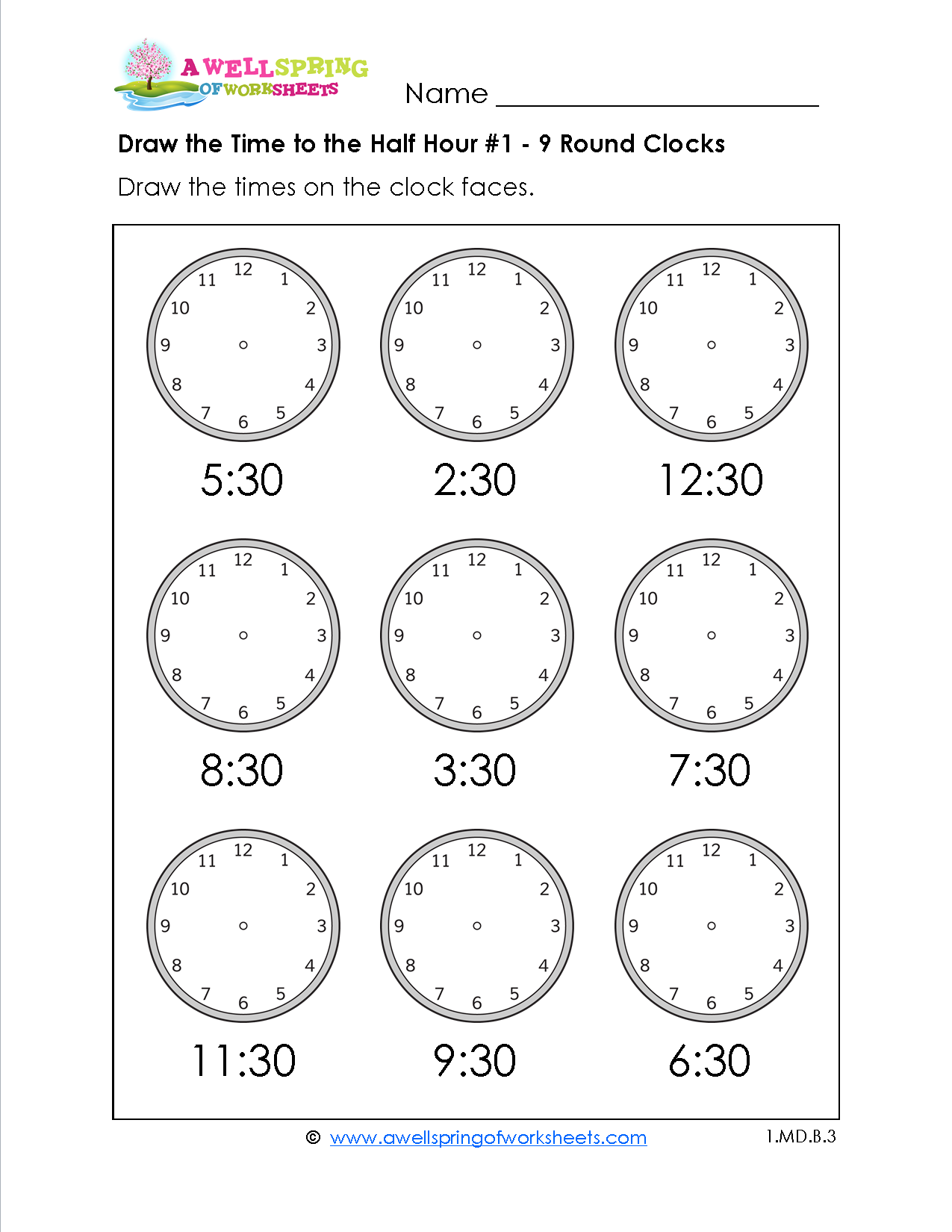 hight resolution of 1St Grade Time Worksheets - Math Worksheet for Kids   Time worksheets
