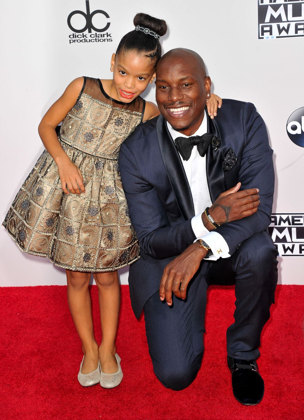 If there's one eight-year old who shouldn't worry about what will be under the Christmas tree this year, it's Shayla Gibson. During GQ's Men Of The Year party, Tyrese spoke to Entertainment Tonight...