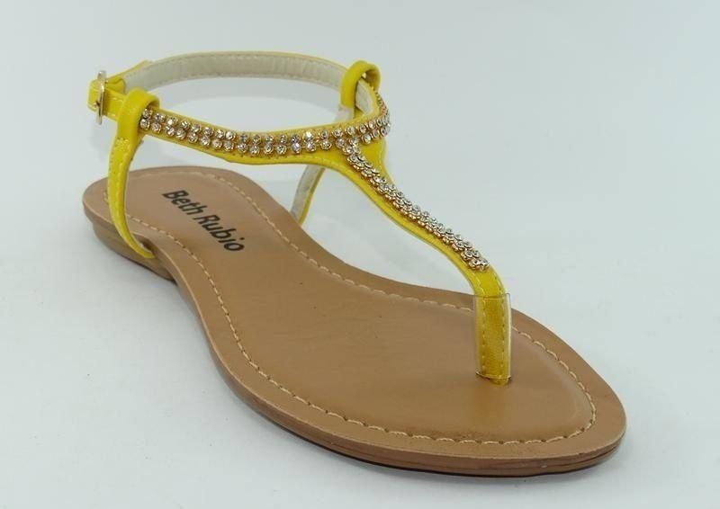 6151c6303ff Sandália (rasteira) amarela com strass - Direto da fabrica - Jaú   SP -  Sapatilhas