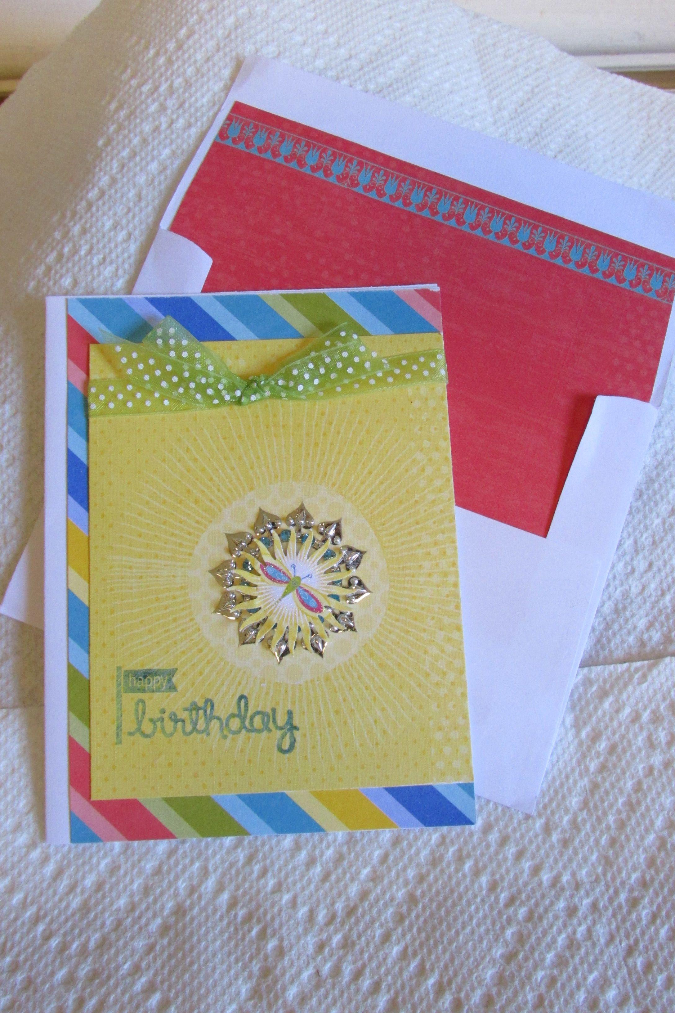Firefly Birthday Card Stuff I Made Pinterest Fireflies