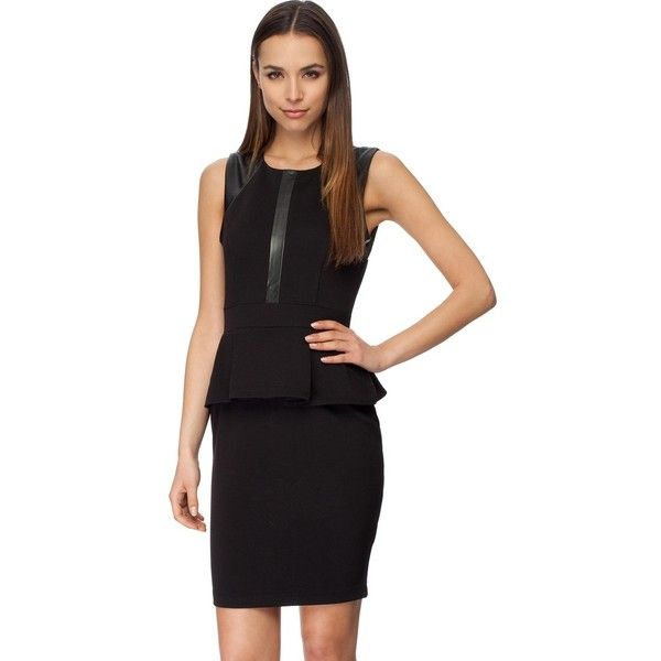 Kardashian Kollection Cut-Out Neck Detail Dress (80 CAD) ❤ liked on Polyvore