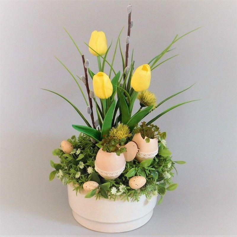 Znalezione Obrazy Dla Zapytania Stroiki Wielkanocne Na Cmentarz Allegro Plants