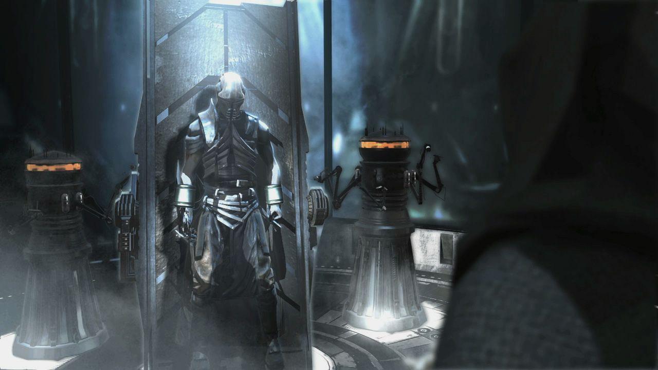 starkiller is rebuilt within the sith stalker armor
