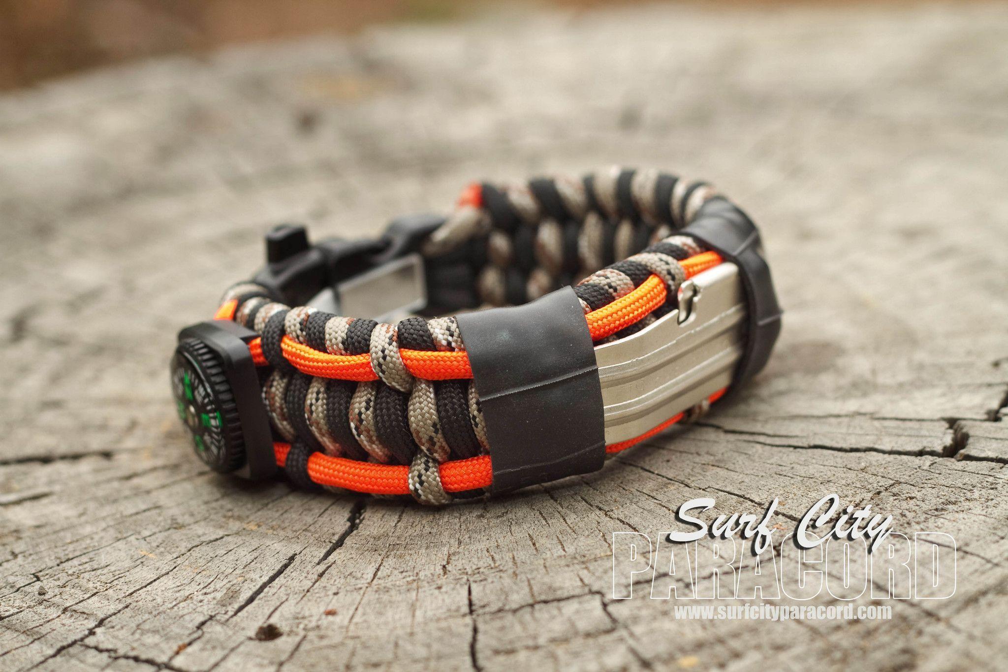 Ultimate Paracord Survival Bracelet Version 2 Choice Of Color