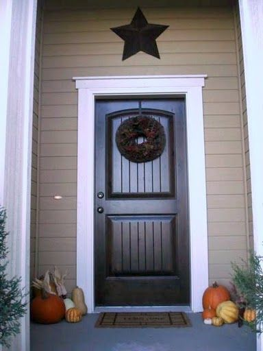 Exterior Door Mouldings Add A Nice Look To The Exterior Of
