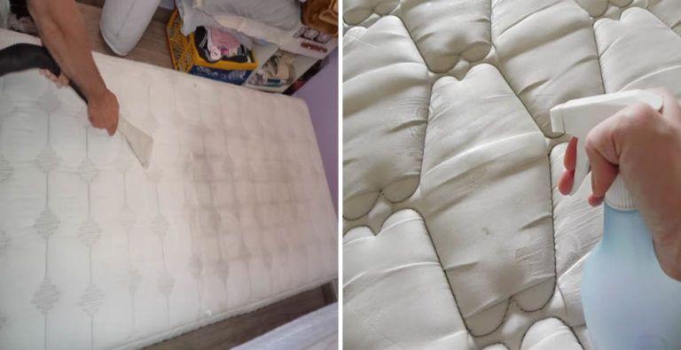 Como Limpiar El Colchón Y Sacar Las Manchas Paso A Paso Home Decor Mattress Decor