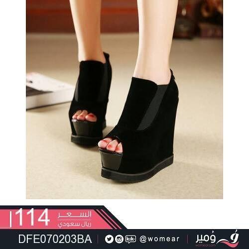 اليك احدث موديلات الاحذية العصرية حذاء نسائي احذيه فاشون موضة كشخة اناقة بنات سعودية بنات الخليج طلعات ستايل شوز جزمات Heels Fashion Peep Toe