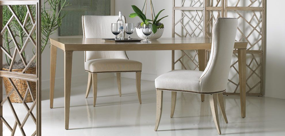 Superior A Dining Table From Sherrill Occasional Will Make Your Dining Room Shine.  M. Fatheree
