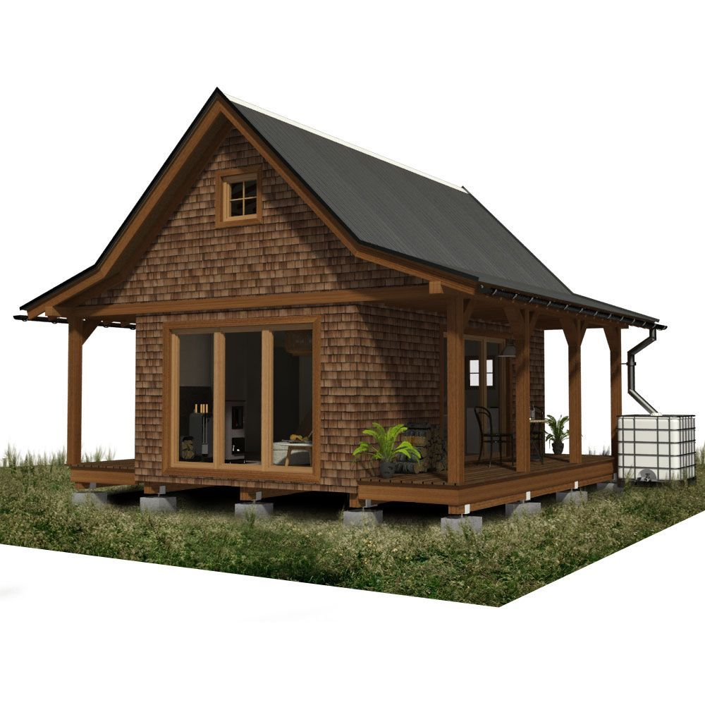 Two Bedroom Cabin Plans Cabin Plans Log Cabin Rustic Cabin House Plans