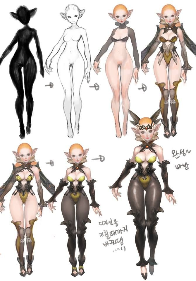 Female Character Design Tutorial : Pin by loky on tutorial pinterest characters