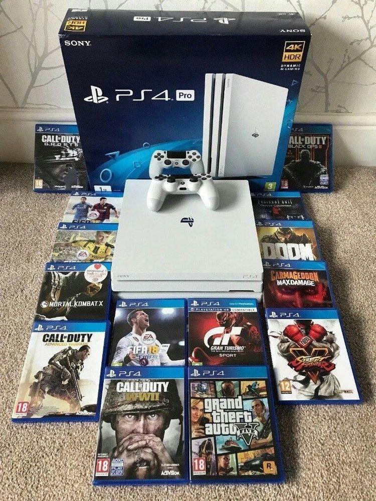 Sony PlayStation 4 Pro Limited Edition Destiny 2 Bundle 1TB