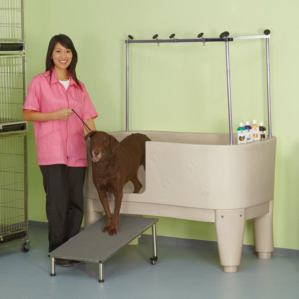 Master Equipment Polypro Dog Grooming Tub Dog Grooming Tips Dog