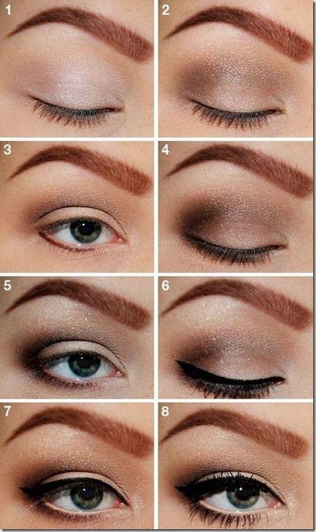 Machiaj De Zi Pas Cu Pas 12 Makeup în 2019 Beauty Makeup Eye