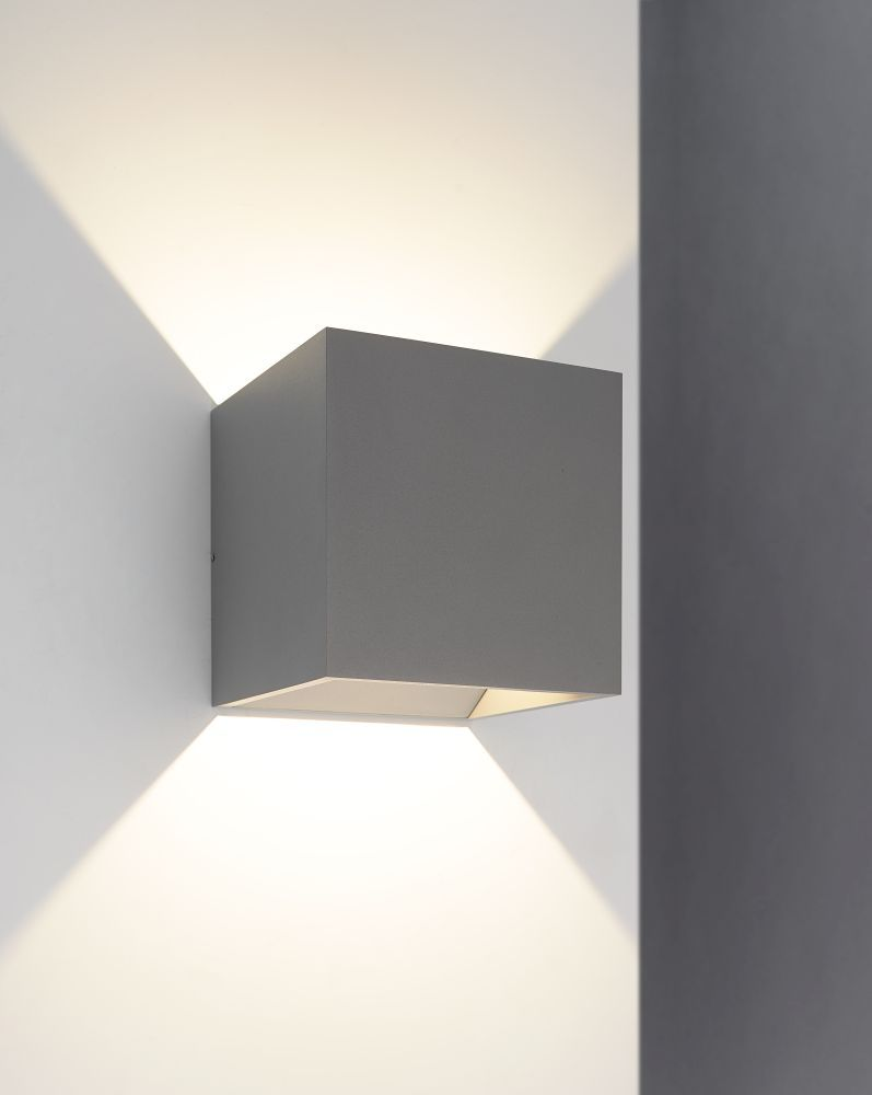 Bruck Lighting 105040sv Qb 1 Light Led Outdoor Wall Sconce In Silver Is Made By The Brand Bruck Lighting And Is A M Wall Sconces Outdoor Wall Sconce Led Lights