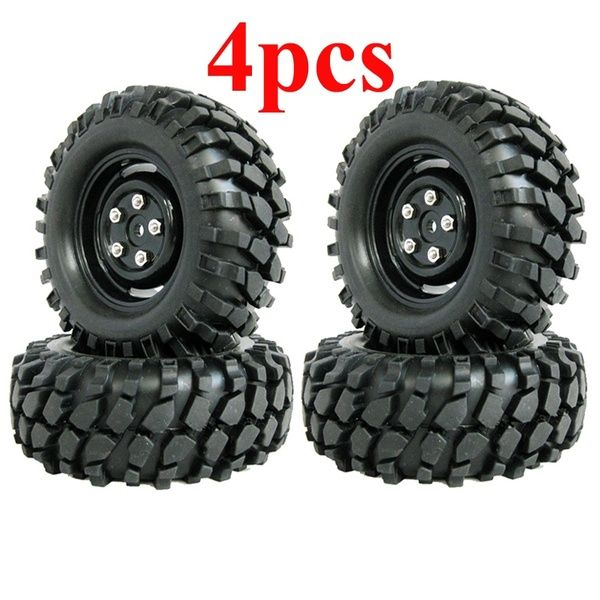 4pcs 1 10 Rc Rock Crawler Tires And Wheels 96mm Fits Axial Scx10 Rc4wd D90 Rc Rock Crawler Rock Crawler Rc Crawler Course