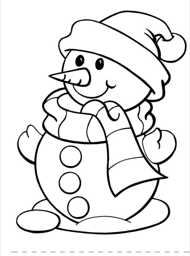 Snow man disegni da stampare drawings to be printed - Pagina a colori spongebob ...