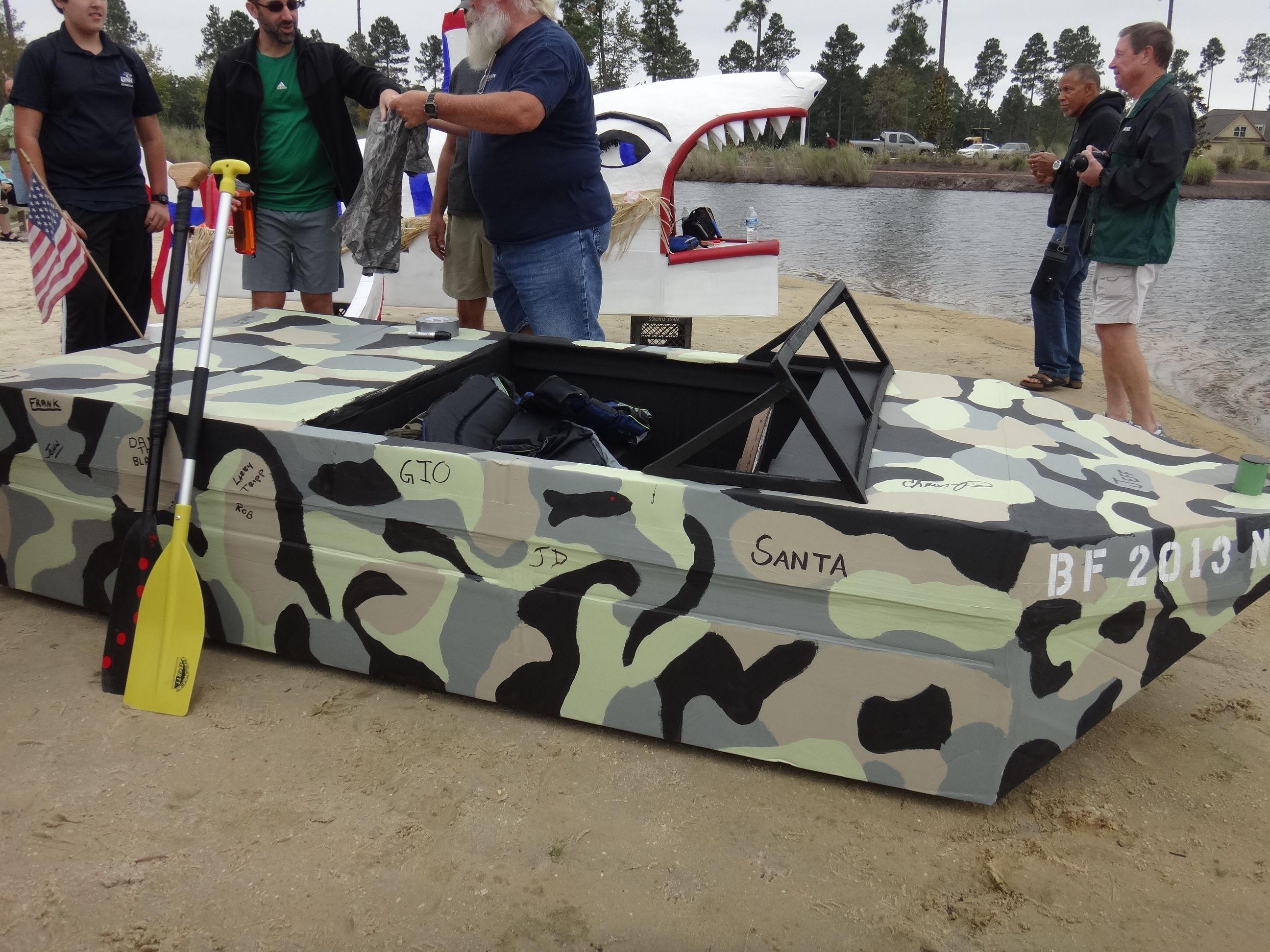2013 Hammock Lake Cardboard Boat Race