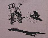 Star Wars easy rider speeder bike on mens t shirt by missionthread. $18.99, via Etsy.