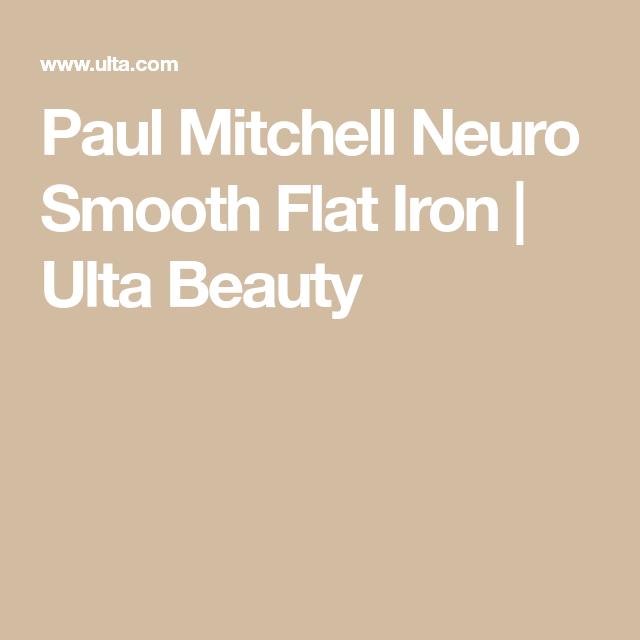 Paul Mitchell Neuro Smooth Flat Iron Ulta Beauty Flat Iron Paul Mitchell Smooth
