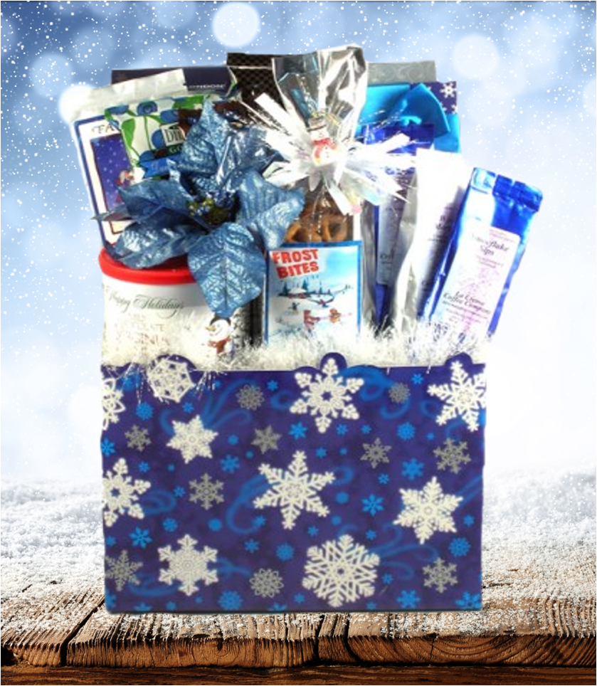 Snowflake Holiday Gift Basket | Tennessee Gift Baskets | Pinterest ...