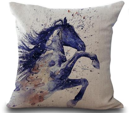 Horse Decor Throw Pillow Covers