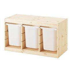 Contenitori Per Giocattoli In Plastica.Trofast Serie Di Contenitori Per Giocattoli Combinazioni Ikea