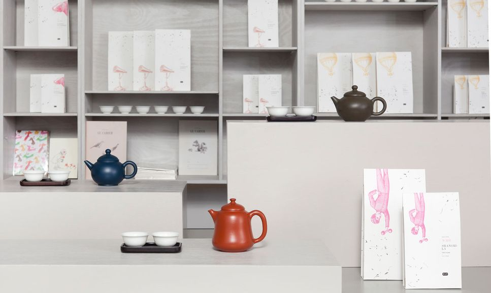 PAPER & TEA BERLIN - Specialty tea company offering fine and rare teas as well as related accessories