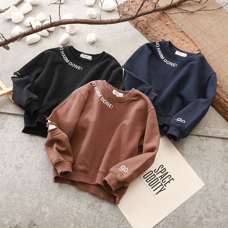 7058134e31a2 2018 Baby Boys T-shirts Printed Cotton Full Sleeve Sweatshirts Kids Tops  Spring Tees   Price   84.75      babyfashion