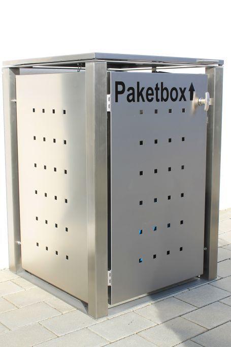 Die systemunabhängige Paketbox. Einfach und genial. Fertig