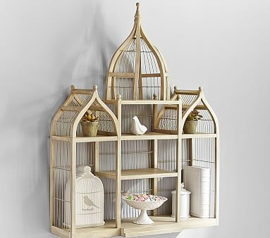 Antique Birdcage Shelf Pottery Barn Kids Furniture Decorating