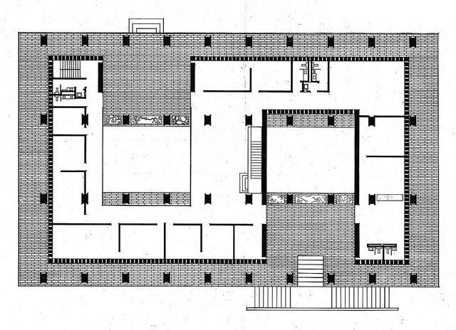 United States Embassy Amman Jordan Ground Floor Plan Embassy Floor Plans