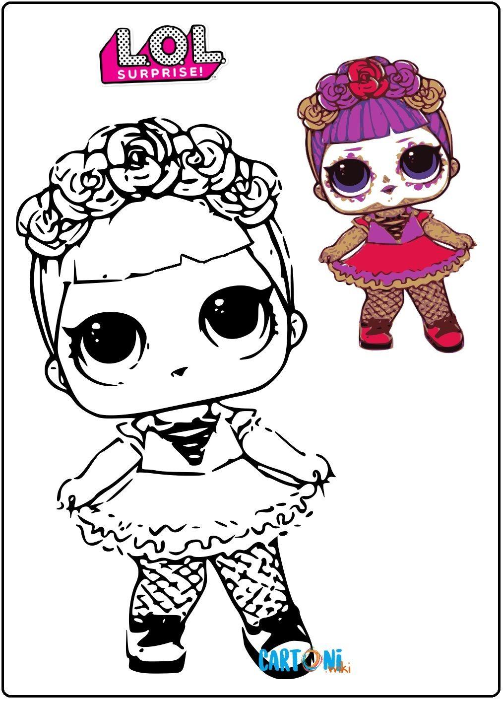 Disegni Da Colorare Di Bebe Bonita La Bambola Lol Surprise Serie 4