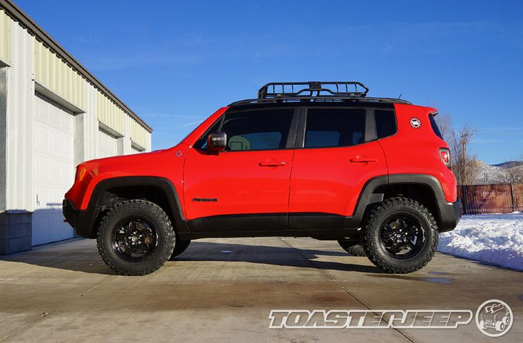 Jeep Renegade With Daystar Lift And Cooper Stt Pro Tires Jeep