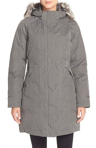 0814dd352 The North Face 'Arctic' Parka with Removable Faux Fur Trim Hood ...