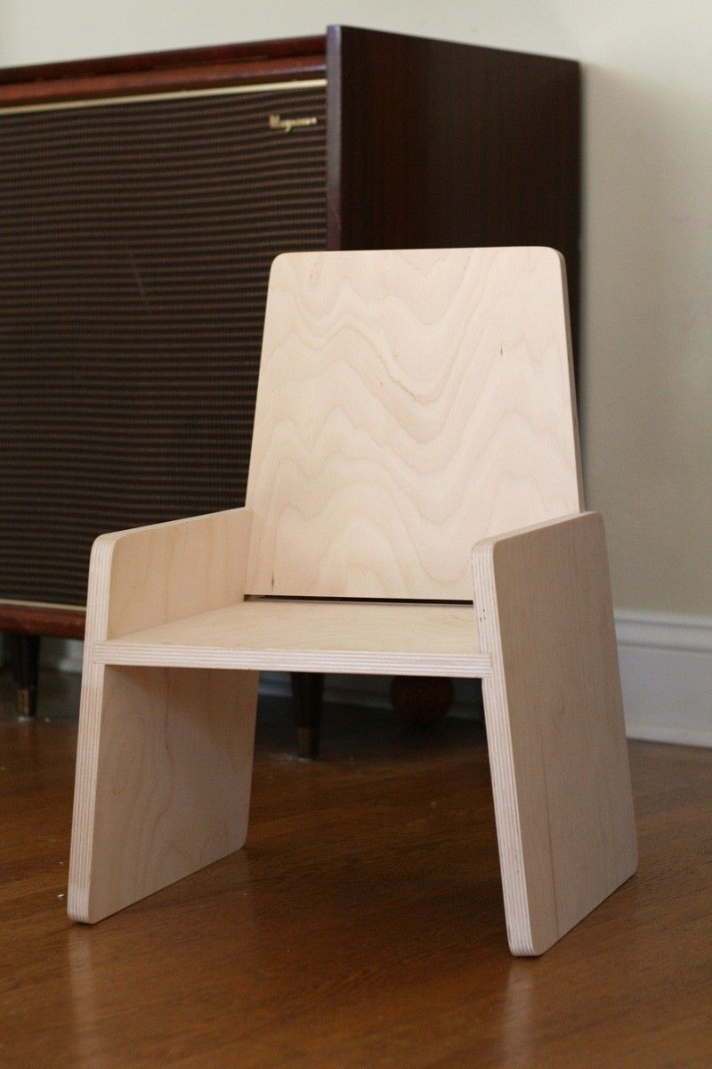 Superb Modern Toddler Chair.