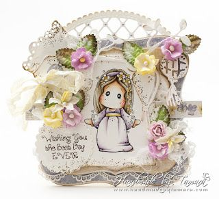 Handmade by Tamara: Tilda with flower Tiara ♡ The Ribbon Girl