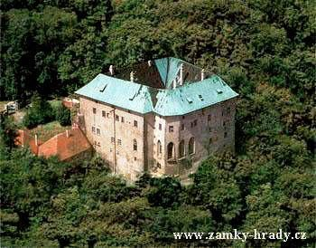 Houska Castle in the Czech Republic is built over a gaping hole said to be the very gateway to hell.