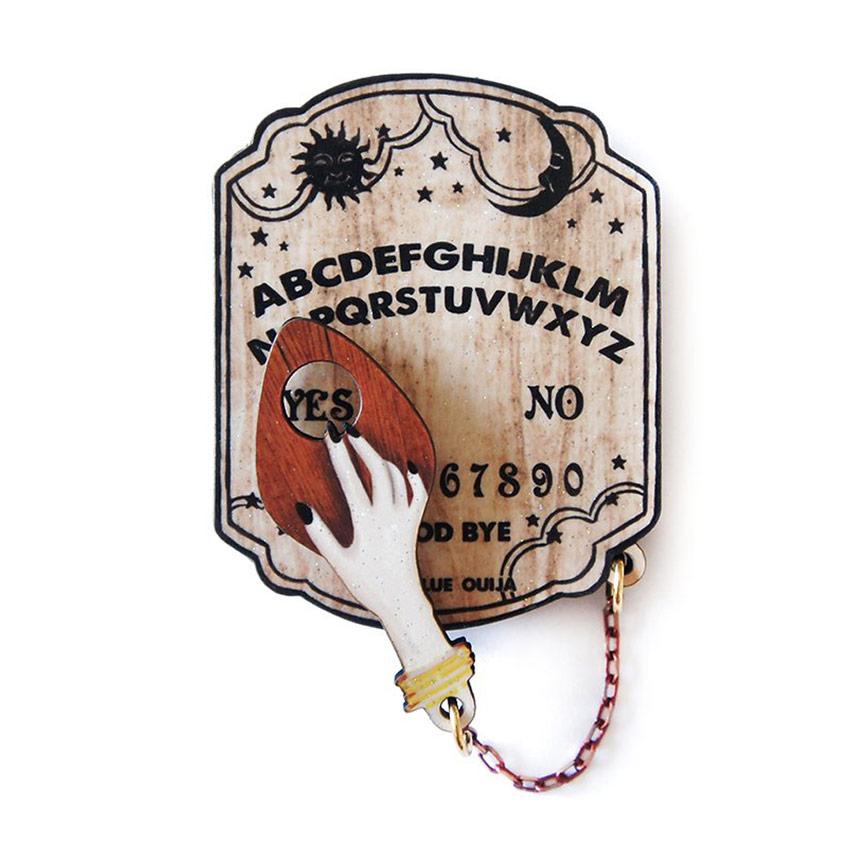 Ouija Board Brooch By Laliblue Ouija Board Ouija Original Artwork