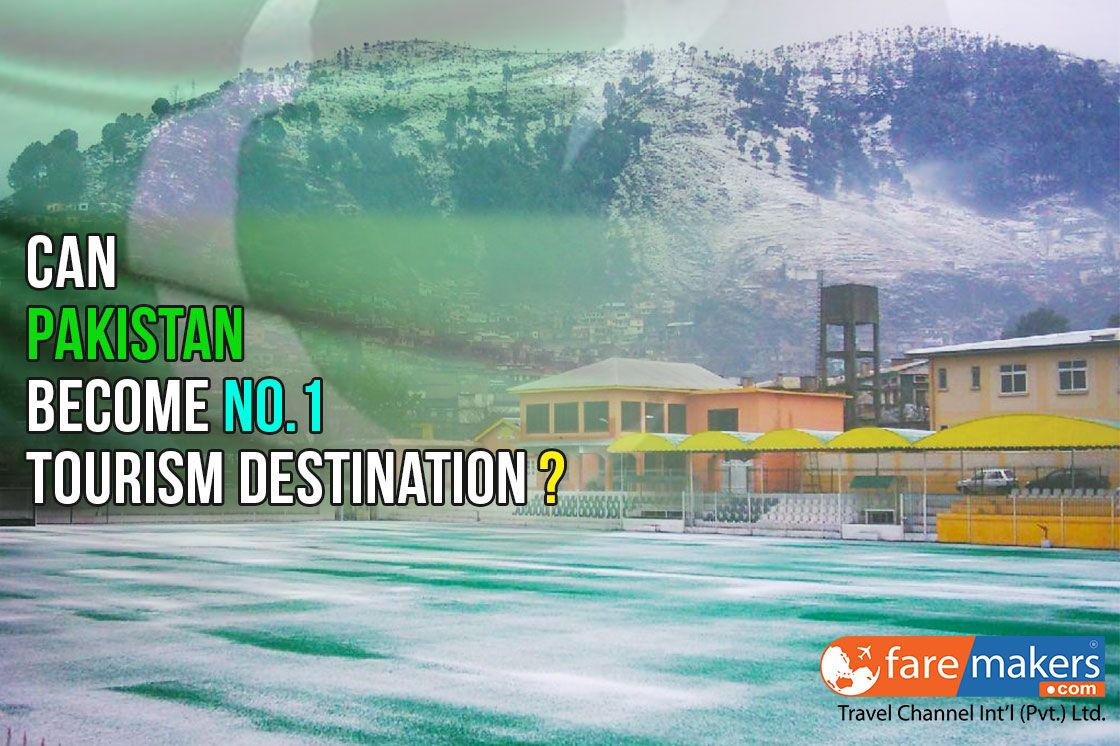 """Faremakers.com stand in-front of you with the title of the """"Can Pakistan become no.1 tourism destination?"""" after read it, we knew it that all say yes, of-course, infect Pakistan is the No. 1 Tourism Destination. But we would like to explain it for our international customers, who do not proper know about Pakistan. #CheapFlightDeals #SereneAir #Faremakers #Travel"""