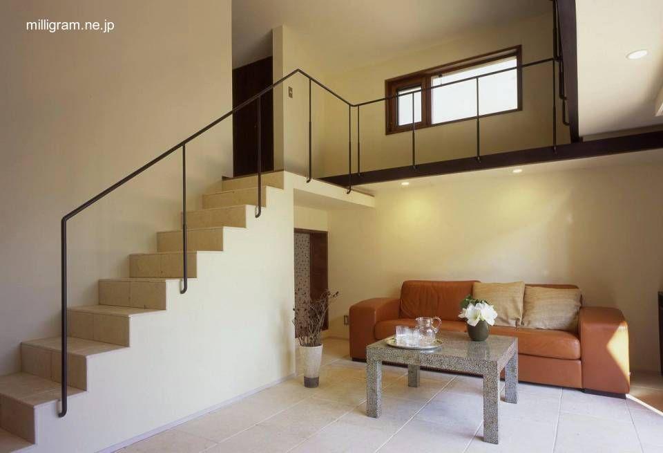 Pin de erica amherdt en casa pinterest dos pisos - Escaleras de casas modernas ...