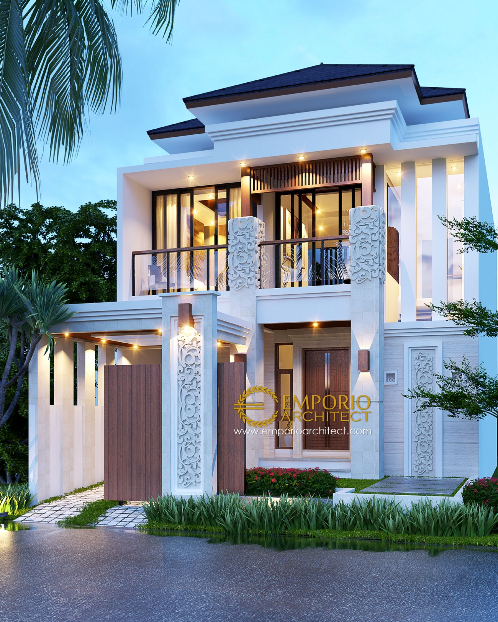 Jasa arsitek jakarta desain rumah bapak riyanto berkualitas villa bali modern house designmodern also with  superior business you will always discover an ideal remedy rh pinterest
