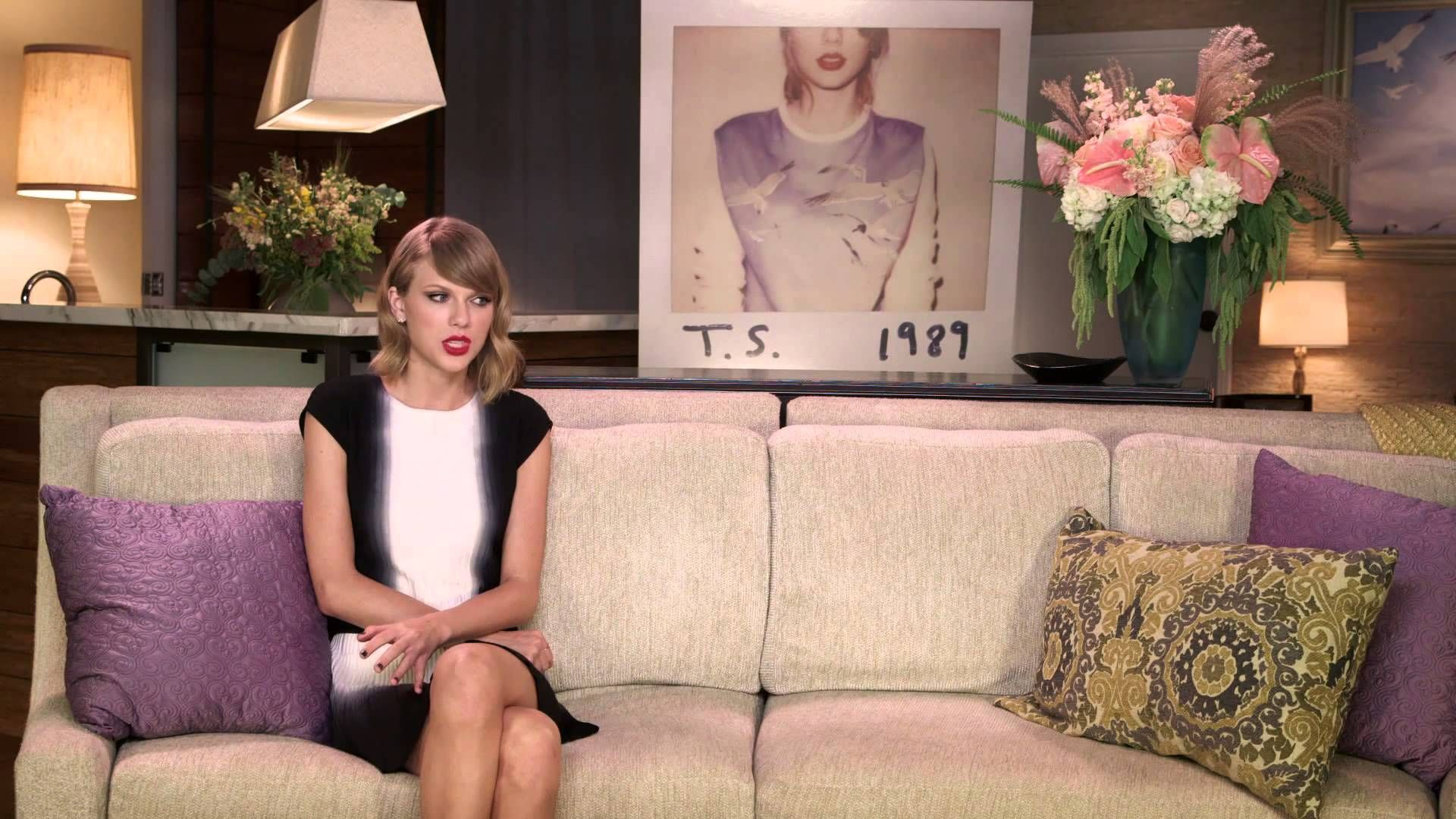 """Taylor Swift Talks About """"Out Of The Woods"""" thanks...remember everytime i have gotten upset...we have broken up...perception is just that...if you want to believe something bad enough  you will believe it..."""