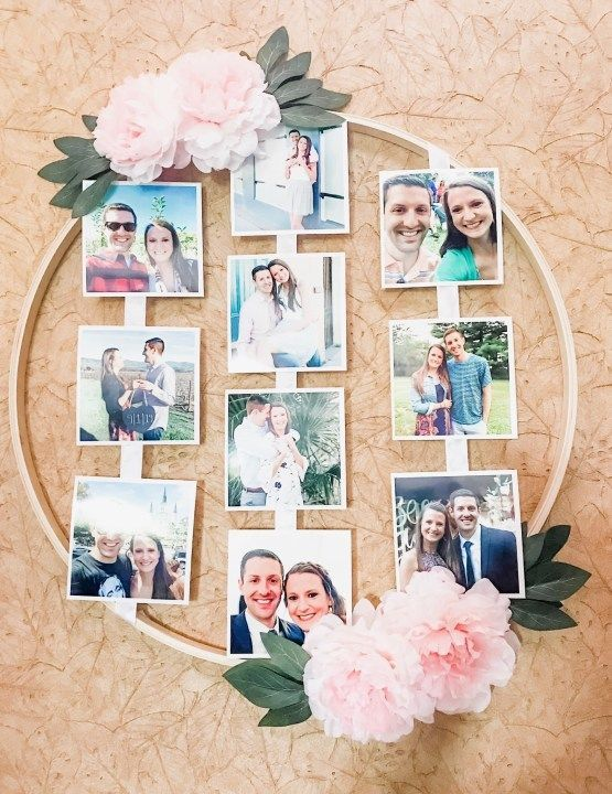 Easy DIY Bridal Shower Picture Idea - DIY Darlin'