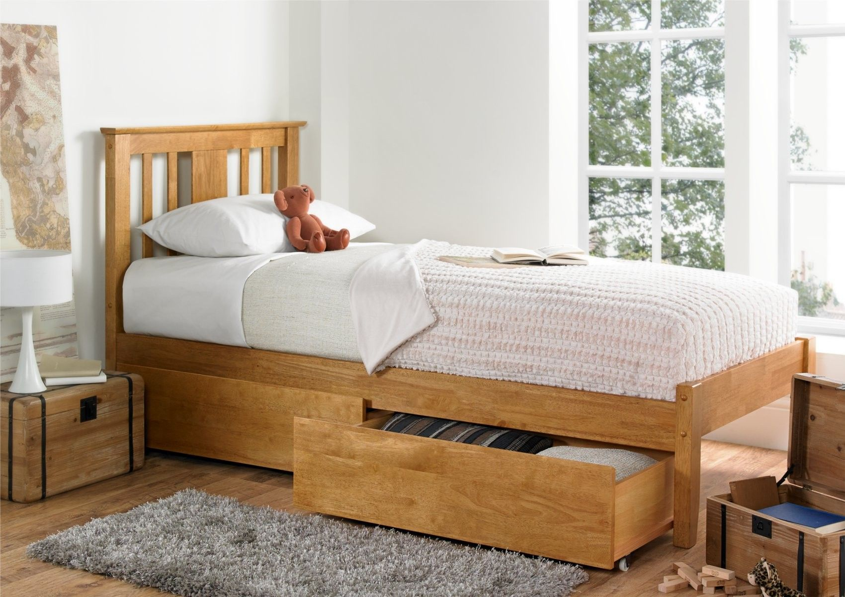 Perfect For Both Children And Adults A Like The Malmo Oak Bed Is