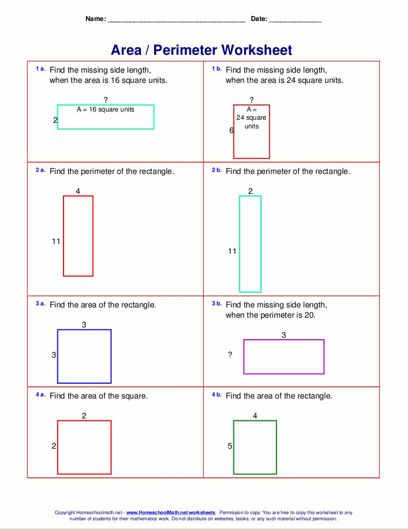 7 Area And Perimeter Word Problems Worksheets Pdf With Answers In 2020 3rd Grade Math Worksheets Free Printable Math Worksheets Free Math Worksheets