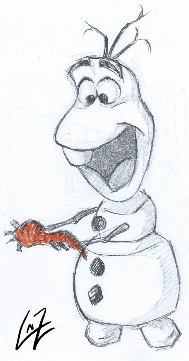 Olaf from Frozen by Tremotino on deviantART