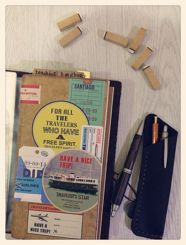 Traveler's notebook with bookmark | by MUki★